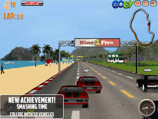 V8 MuscleCars 3 car race game image